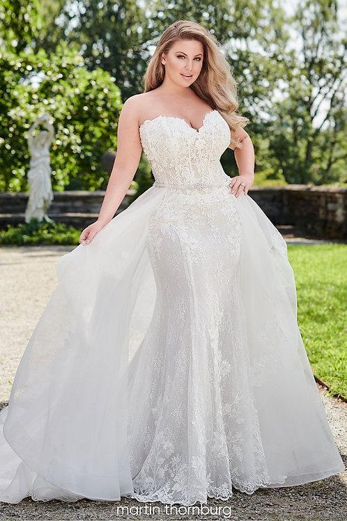 Willow 120242W Martin Thornburg Fit & Flare Wedding Dress- To Order