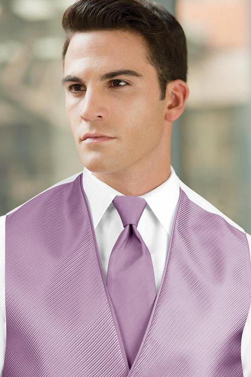 Solid Bali Lavender Windsor Tie