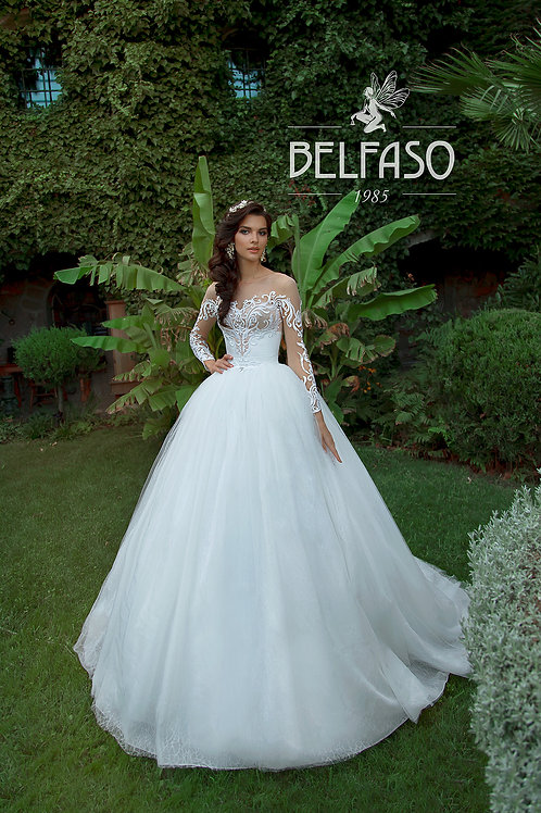 Mattias Belfaso Ballgown Wedding Gown- IN STOCK