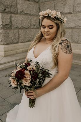Bride: Lyndsee Morris