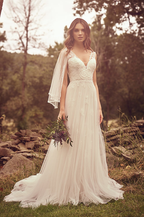66065 Lillian West A-Line Wedding Dress- To Order