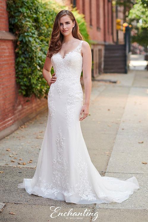 120171 Enchanting Sheath Wedding Dress- To Order