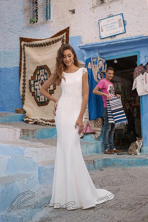 Uma Rima Lav Fit & Flare Wedding Dress- In Stock
