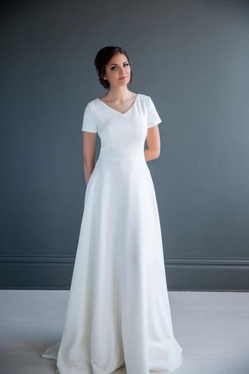 Tiffany MC7232 MBC by Barbie A-Line Wedding Dress- To Order
