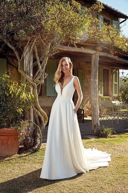 Madelyn EK1355 Eddy K A-Line Wedding Dress- To Order