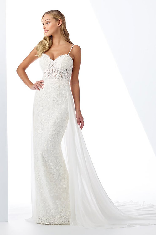 119109 Enchanting Fit & Flare Wedding Dress- To Order
