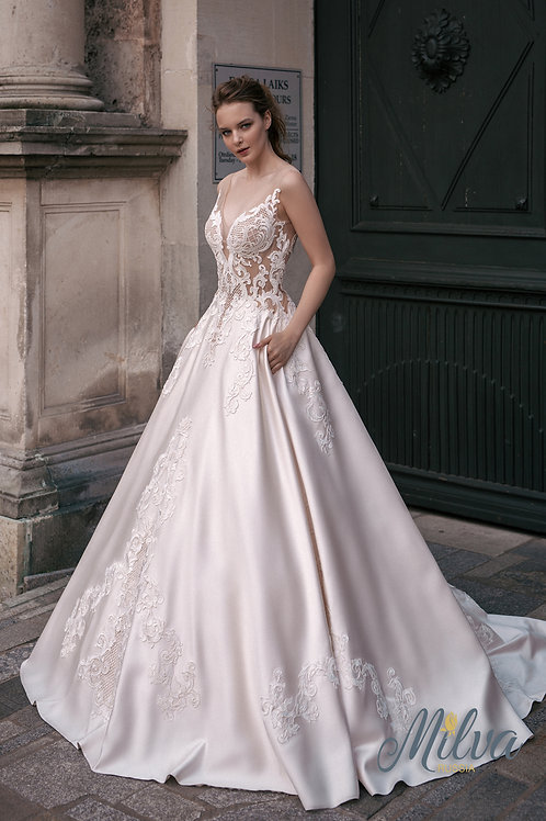 Diona Milva Ballgown Wedding Dress- To Order