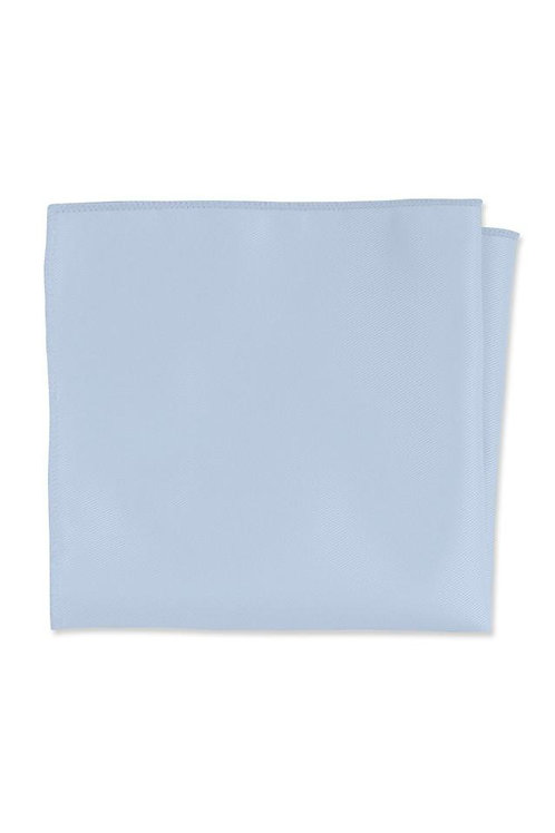 Expressions Light Blue Pocket Square