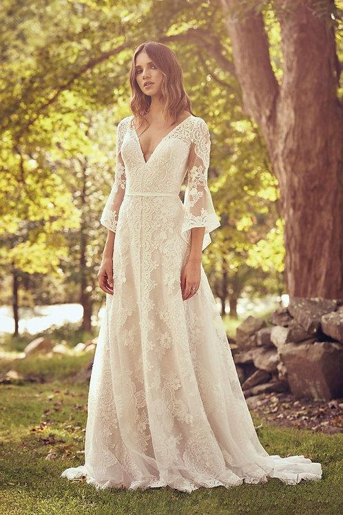 66064 Lillian West A-Line Wedding Dress- To Order