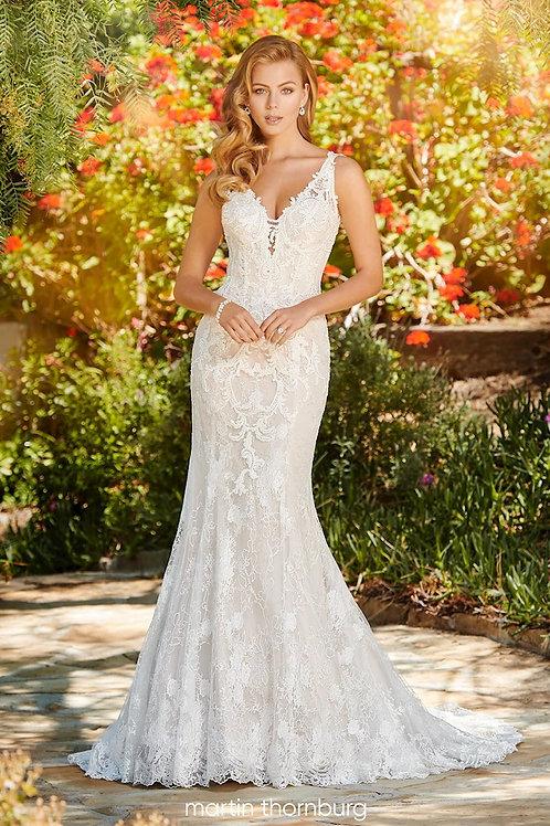 Claire 120243 Martin Thornburg Fit &Flare Wedding Dress- To Order