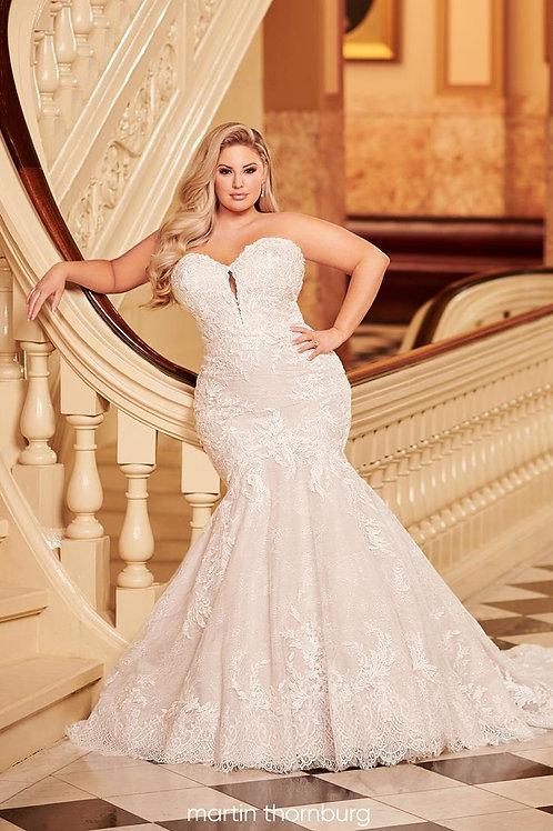 Solana 220261W Martin Thornburg Trumpet Wedding Dress- To Order