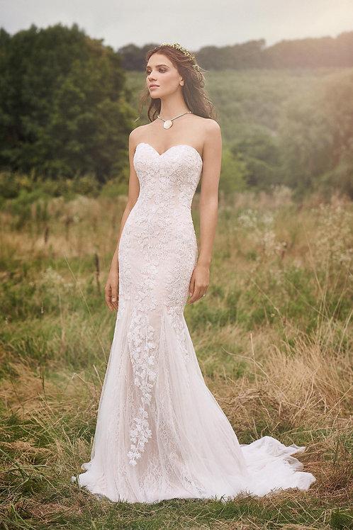 66141 Lillian West Mermaid Wedding Dress- To Order