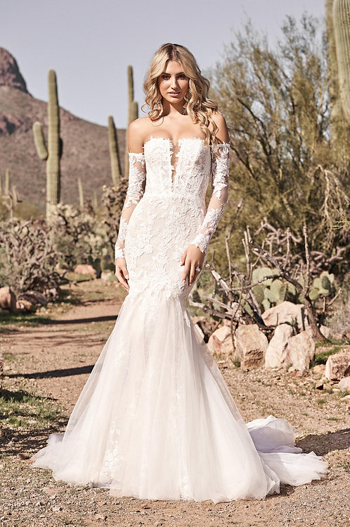66164 Lillian West Mermaid Wedding Dress- To Order