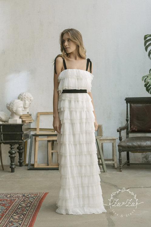 Joy Zuzu Sheath Wedding Dress- To Order
