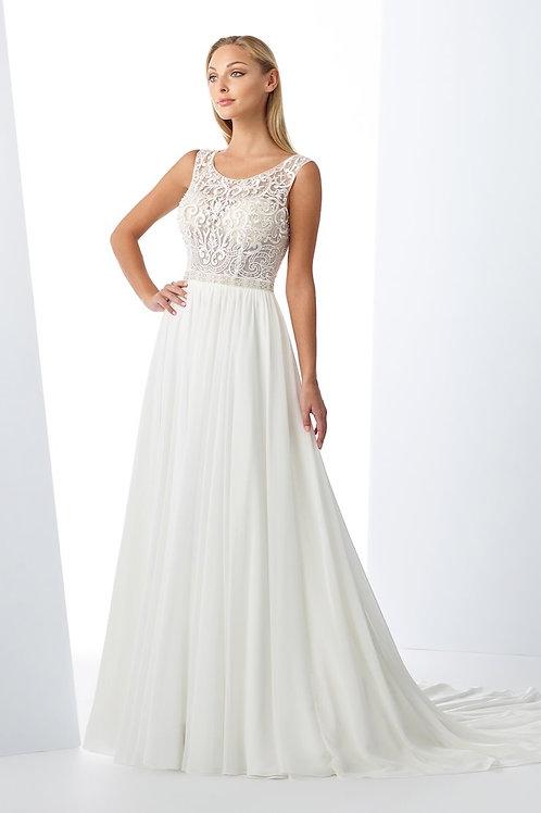 119115 Enchanting A-line Wedding Dress- To Order