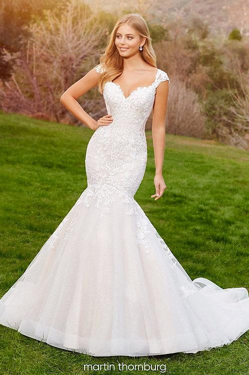 Belleau 220276 Martin Thornburg Mermaid Wedding Dress- To Order