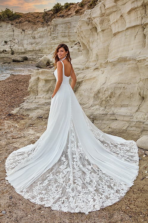 Gigi DR2045 Eddy K A-Line Wedding Dress- To Order