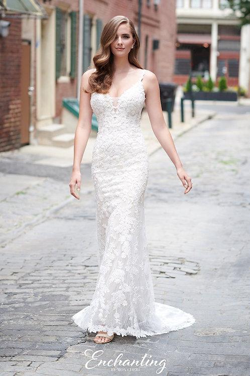 120174 Enchanting Sheath Wedding Dress- To Order
