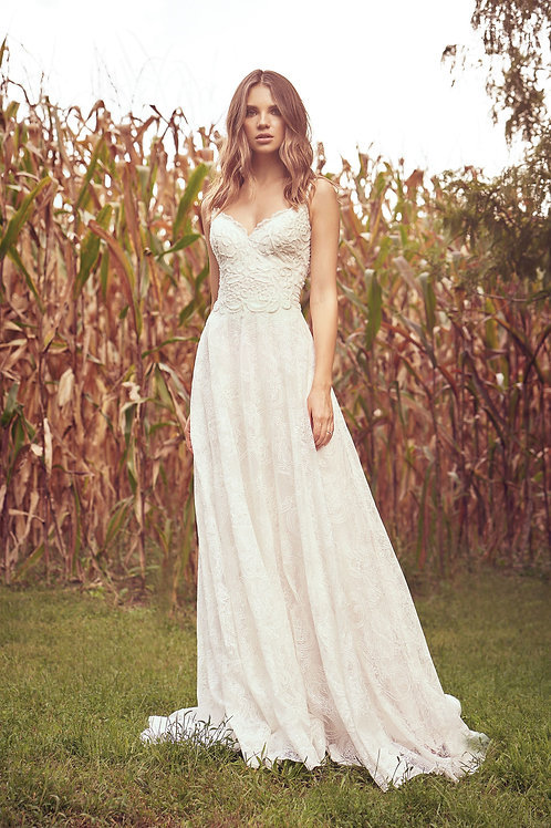 66060 Lillian West A-Line Wedding Dress- To Order