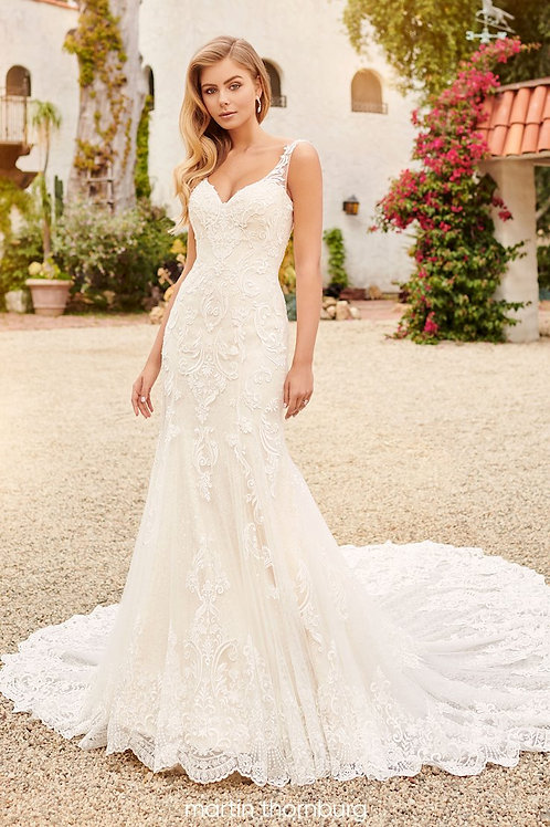 Avery 120254 Martin Thornburg Fit & Flare Wedding Dress- To Order