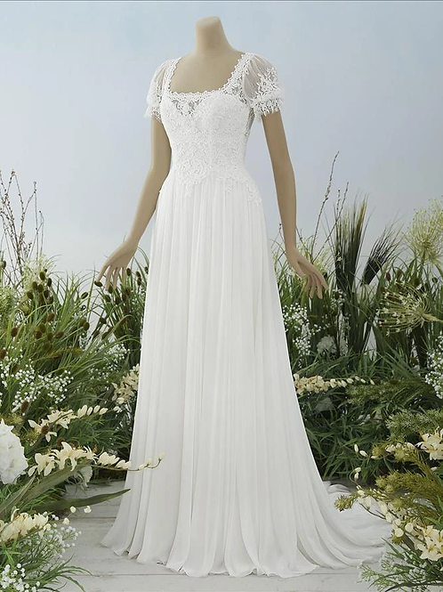 Adaline Pronovias Sheath Wedding Dress- IN STOCK