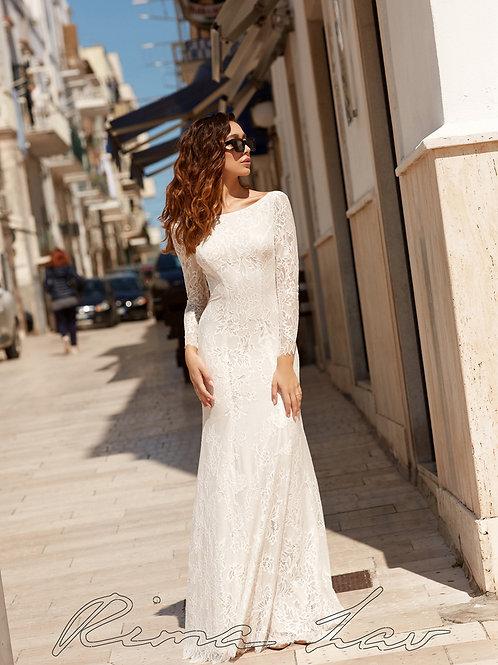 Debra Rima Lav Fit & Flare Wedding Dress- In Stock