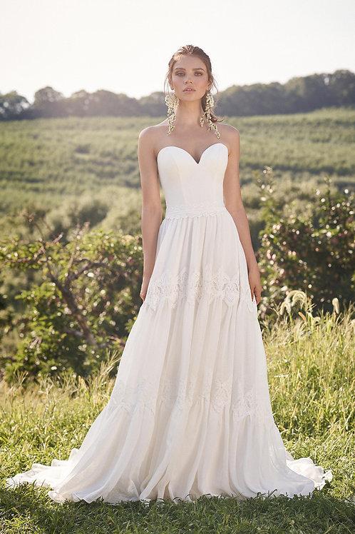 66127 Lillian West A-Line Wedding Dress- To Order