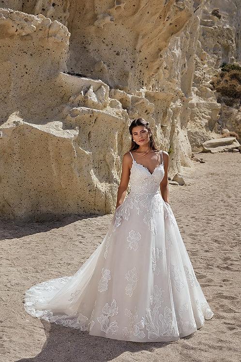 Zola DR2049 Eddy K A-Line Wedding Dress- To Order