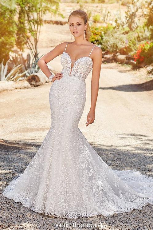 Fiona 120239 Martin Thornburg Fit & Flare Wedding Dress- To Order