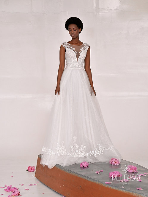 Charm Belfaso A-Line Wedding Dress- To Order