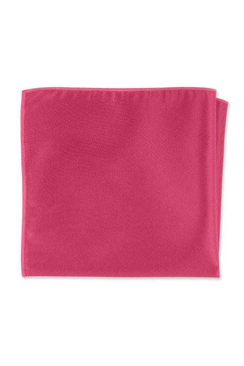 Solid Pomegranate Pocket Square
