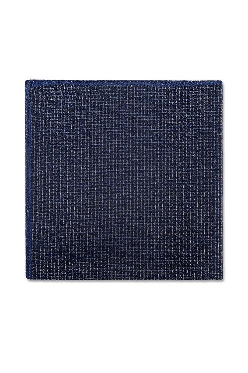 Foundation Blue Pocket Square