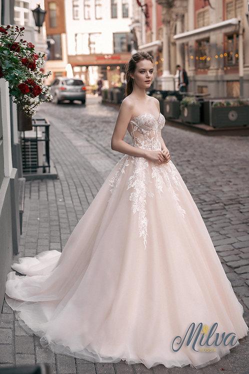 Flora Milva Ballgown Wedding Dress- To Order