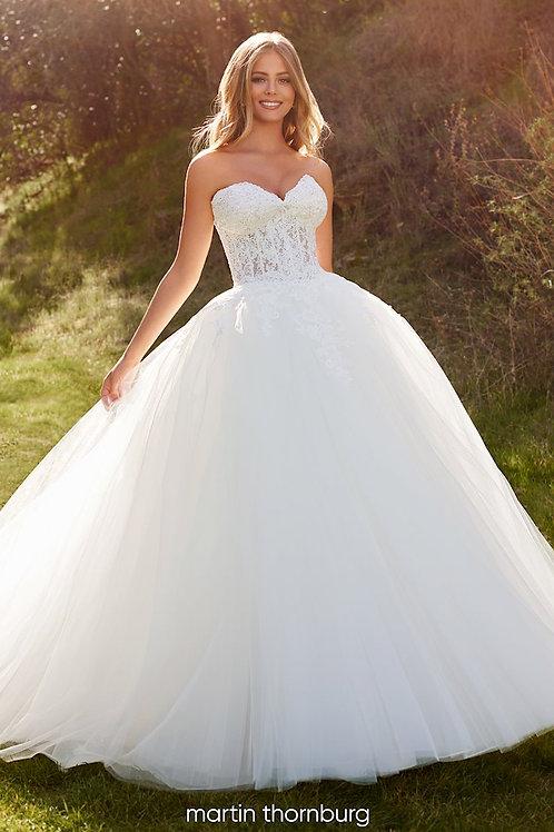 Remington 220282 Martin Thornburg Ballgown Wedding Dress- In Stock