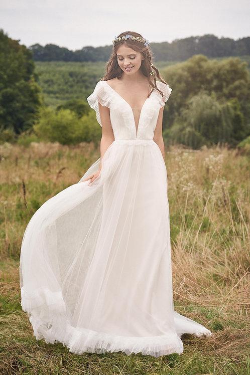 66128 Lillian West A-Line Wedding Dress- To Order
