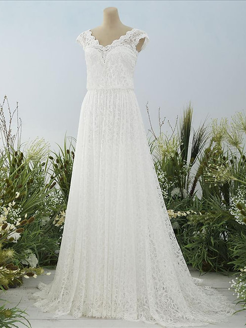Adele Pronovias A-line Wedding Dress- IN STOCK