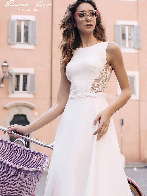 Nelly Rima Lav A-Line Wedding Dress- In Stock