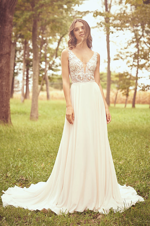 66059 Lillian West A-Line Wedding Dress- To Order