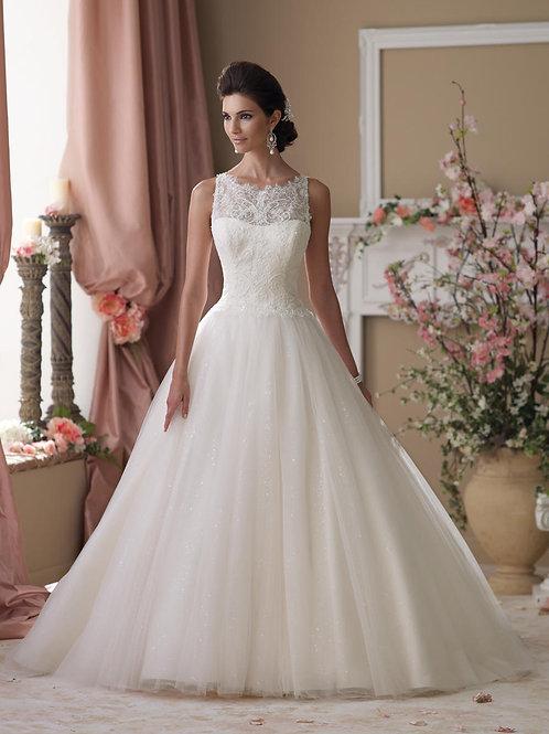 Isobel 114273 Martin Thornburg Ballgown Wedding Dress- In Stock