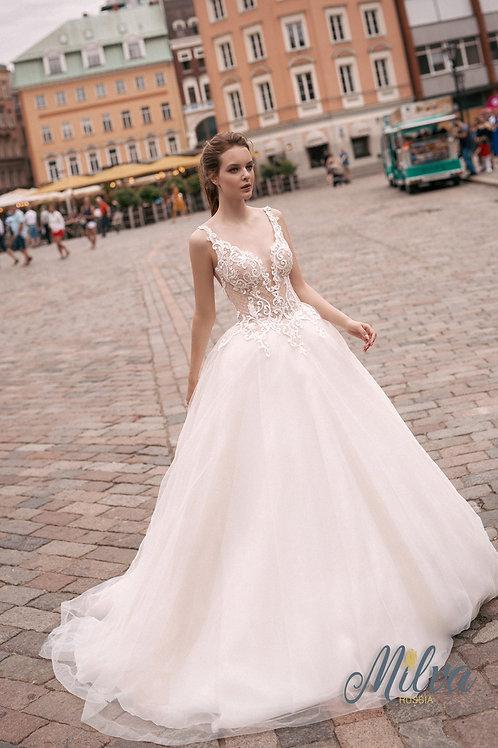Tayla Milva Ballgown Wedding Dress- To Order