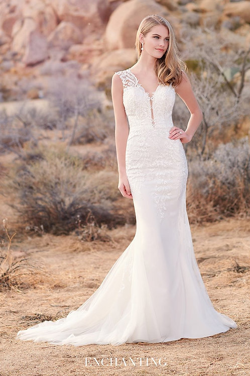 220107 Enchanting Fit & Flare Wedding Dress- To Order