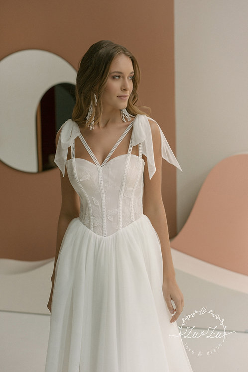 Monty Zuzu A-Line Wedding Dress- To Order
