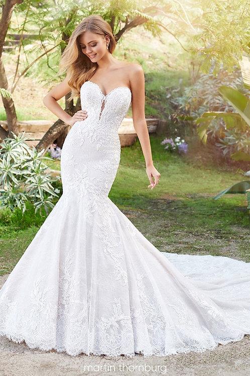 Solana 220261 Martin Thornburg Trumpet Wedding Dress- To Order