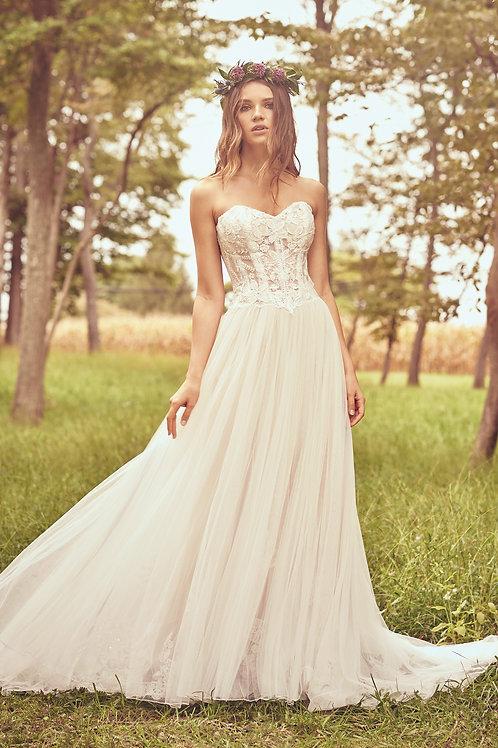 66079 Lillian West A-Line Wedding Dress- To Order