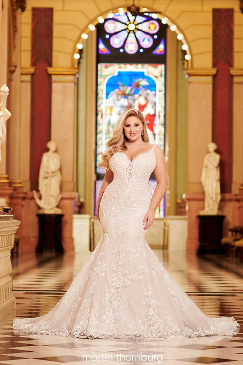 Avalon 220262W Martin Thornburg Mermaid Wedding Dress- To Order