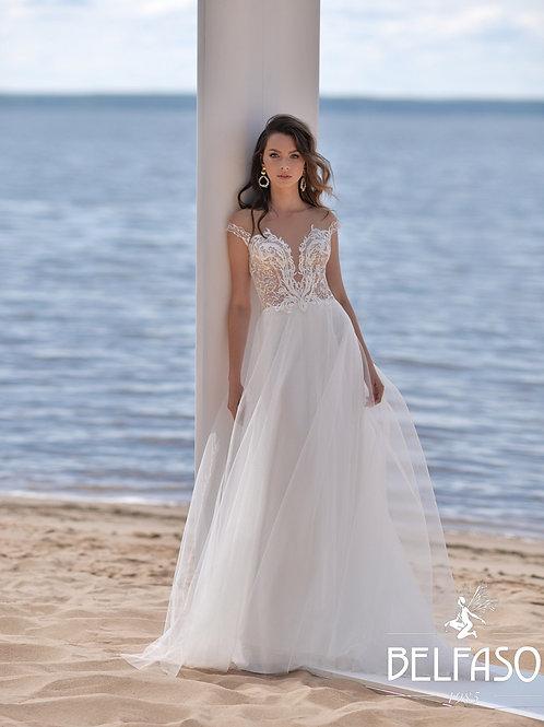 Selina Belfaso Sheath Wedding Dress- To Order