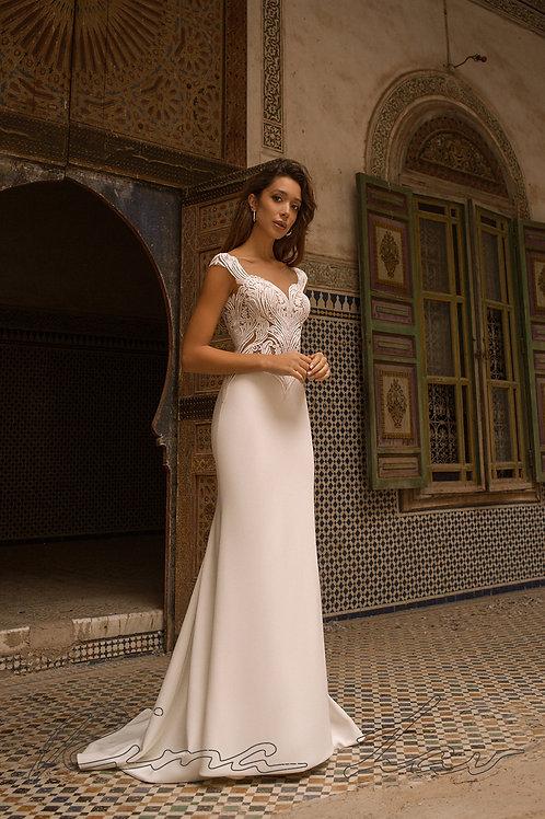Deniza Rima Lav Fit & Flare Wedding Dress- To Order