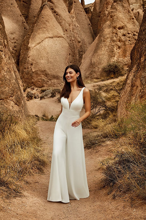 Phoenix DR2029 Eddy K Pantsuit Wedding Dress- To Order