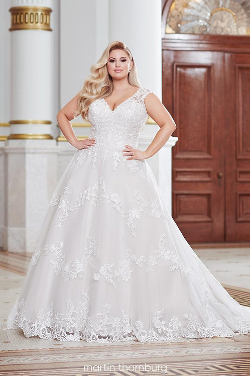 Davenport 220279W Martin Thornburg Ballgown Wedding Dress- To Order