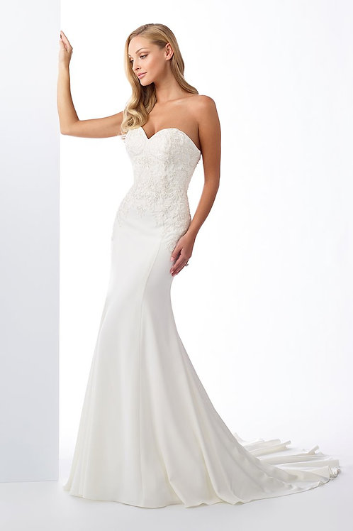 119116 Enchanting Fit & Flare Wedding Dress- To Order